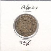 20 Centimes Brass 1972 - Algérie