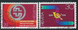 Svizzera 1974 Usato - Mi.1040/1  Yv.966/7 - Usati