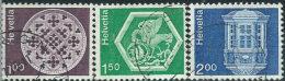 Svizzera 1974 Usato - Mi.1035v;1037/8v  Yv.968;970/1  Fili Di Seta - Usati