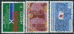 Svizzera 1975 Usato - Mi.1046/8  Yv.976/8 - Usati