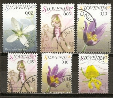 Slovenie Slovenia 200- Fleurs Flowers Obl - Slovénie