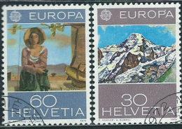 Svizzera 1975 Usato - Mi.1050;1052  Yv.980;982 - Usati