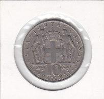 10 DRACHMAI Copper-nickel 1968 - Grèce