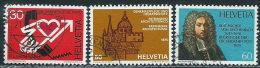 Svizzera 1975 Usato - Mi.1059/61  Yv.988/90 - Usati