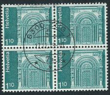 Svizzera 1975 Usato - Mi.1068  Yv.993  Bloc 4x - Usati
