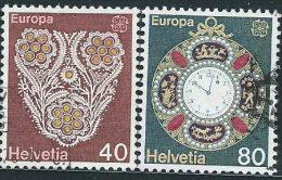 Svizzera 1976 Usato - Mi.1073/4  Yv.1003/4 - Usati