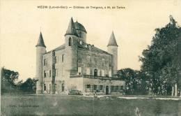Mézin  Château De Treignan à M. De Tartas Cpa - France