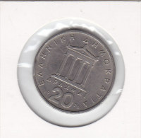 20 DRACHMAI Copper-nickel 1976 - Greece