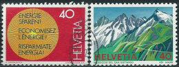 Svizzera 1976 Usato - Mi.1080/1  Yv.1010/1 - Usati