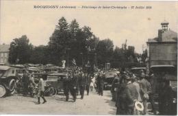 Carte Postale Ancienne De ROCQUIGNY - France