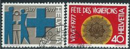 Svizzera 1977 Usato - Mi.1087/8  Yv.1021/2 - Usati