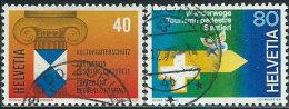 Svizzera 1977 Usato - Mi.1110/1  Yv.1031/2 - Usati