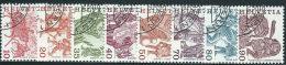 Svizzera 1977 Usato - Mi.1101/8  8v Non Completa; Annullo1°Giorno - Usati