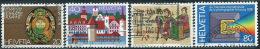Svizzera 1978 Usato - Mi.1116/9  Yv.1046/9 - Usati