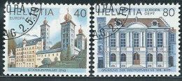 Svizzera 1978 Usato - Mi.1128/9  Yv.1058/9  Annullo1°Giorno - Usati