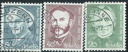 Svizzera 1978 Usato - Mi.1137/8;1140  Yv.1067/8;1070 - Usati