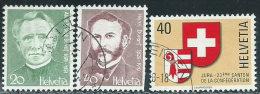 Svizzera 1978 Usato - Mi.1137/8;1141  Yv.1067/8;1071 - Usati