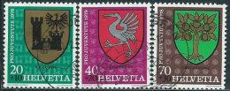 Svizzera 1978 Usato - Mi.1142/4  Yv.1072/4  1dente Corto - Usati