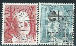 Svizzera 1979 Usato - Mi.1147;1149  Yv.1081;1083 - Usati