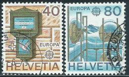 Svizzera 1979 Usato - Mi.1154/5  Yv.1084/5 - Usati