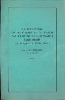 Brochure - Voiture - Auto - La Réduction Du Frottement  - Du Graphite Colloidal - Thomson - Auto
