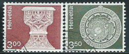 Svizzera 1979/0 Usato - Mi.1160;1169  Yv.1090/1 - Usati