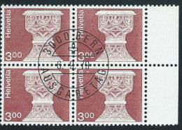 Svizzera 1979 Usato - Mi.1160  Yv.1090  Bloc 4x  Annullo1°Giorno - Usati
