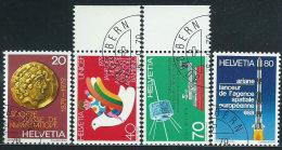 Svizzera 1979 Usato - Mi.1161/4  Yv.1092/5  Annullo1°Giorno - Usati