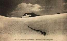 CPA  -   Militaria -  11e Bataillon De Chasseurs Alpins - Descente Du Col De Rhème-Golette - - Régiments