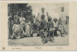 Moanda Une Danse Enfants Dansant Een Negerdans Nels  Timbrée Banana - Congo Belge - Autres