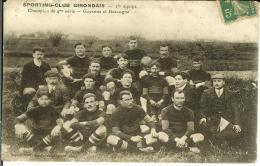 CPA  SPORTING CLUB GIRONDAIS, 1ère équipe Guyenne Et Gascogne  8675 - Rugby