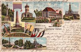 RAR Litho Spicherer Höhen Spichern Spicher 1906 ! - Frankreich