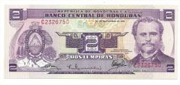 Honduras 2 Lempiras 1976 UNC - Honduras