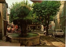 13----CUGES LES PINS--la Fontaine Moussue-voitures 204 + Cox-voir 2 Scans - France