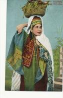 Femme De Bethleem  Fruit Seller Marchande De Fruits  Juive ? Judaica - Palestine
