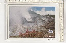 PO1410C# COSTA RICA - PARCO NAZIONALE VULCANO POAS  VG 2001 - Costa Rica