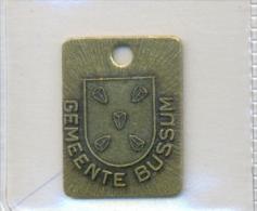 Nederland - Bussum 1993/1994 - Hundemarke - Dog Tax Tag- Médaille De Chien - Hondenpenning - Unclassified
