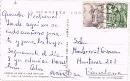 4592. Postal TREMP (Lerida) 1957 - 1931-Hoy: 2ª República - ... Juan Carlos I