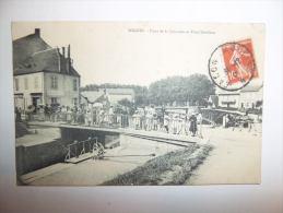 2qly  - CPA  -  DIGOIN -pont De La Jonction Et Pont Bourbon - [71] - Saône Et Loire - Digoin