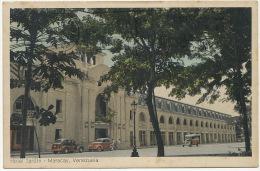 Maracay Hotel Jardin Postally Used To Cuba American Cars - Venezuela