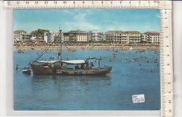 PO1503C# VENEZIA - CAORLE - SPIAGGIA DI LEVANTE - FALCONERA - BARCA PESCHERECCIO   VG 1964 - Venezia (Venedig)