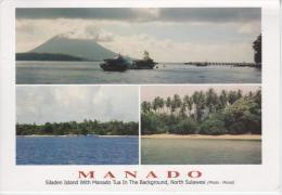 INDONESIE : MANADO - Siladen Island With Manado Tua In The Backgroud, North Sulawesi - Indonesia