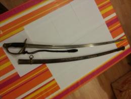 Sabre D´officier D´artillerie Model 1822-1915 Ww 1 - Knives/Swords