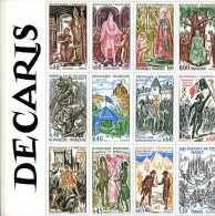 Decaris : Gravures Et Aquarelles ( Catalogue Exposition Musée De La Poste ) - Expositions Philatéliques