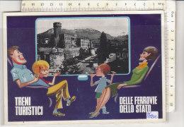PO1521C# TRENTO - CASTELLO DEL BUONCONSIGLIO - TRENI TURISTICI DELLE FERROVIE DELLO STATO   No VG - Trento