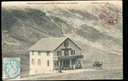 74 LA CLUSAZ / Hôtel Du Col Des Aravis Et Rocher De L'Etal / - La Clusaz