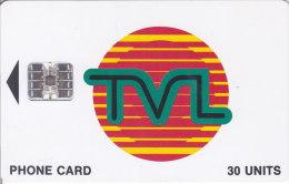Vanuatu, VAN-T-14b, Tvl Logo 30, Cm: Sc7, 2 Scans. - Vanuatu