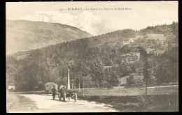 74 DOMANCY / La Route Du Fayet Et Le Mont Blanc / - Sonstige Gemeinden