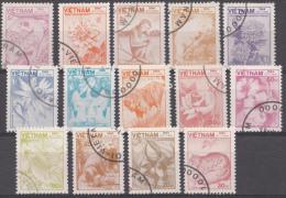VIETNAM MI.NR. 1521-1543  DIEREN EN PLANTEN  USED / GEBRUIKT / OBLITERE 1984 - Viêt-Nam