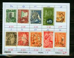 Britsh Colonies,10V,small Restlot  See Scan(UBEG1-5) - Groot-Brittannië (oude Kolonies En Protectoraten)